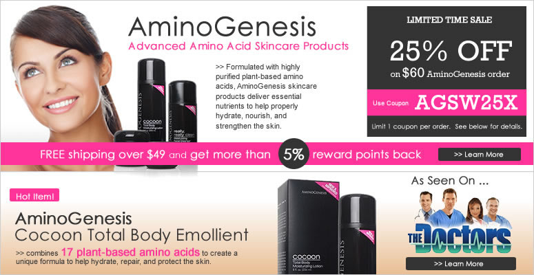 AminoGenesis, Advanced Amino Acid Skincare