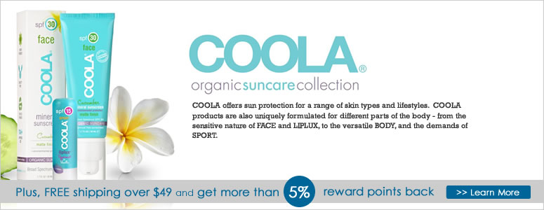 Coola Skincare and Suncare Sale, all natural sunscreen, anti aging products