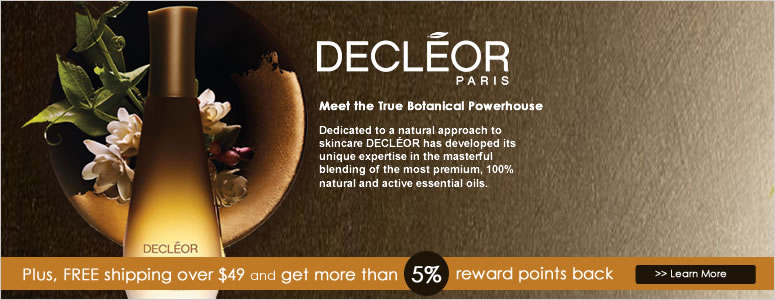 Receive a free 3- piece bonus gift with your $60 Decléor purchase