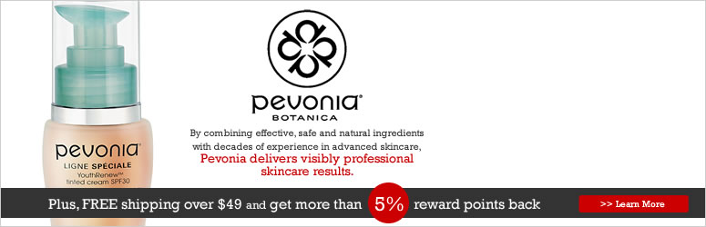 Receive a free 4- piece bonus gift with your $60 Pevonia purchase