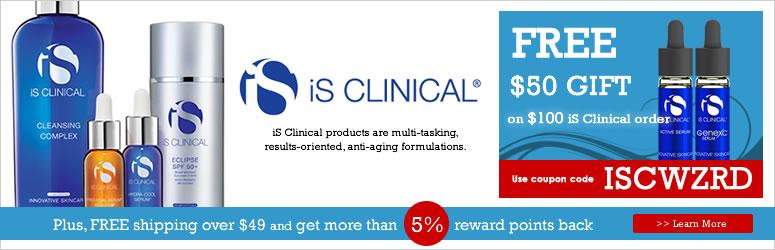 Receive a free 6-piece bonus gift with your $85 iS Clinical purchase