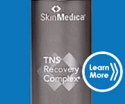 SkinMedica TNS Recovery perfectly complements Kelo-Cote to improve scars by helping collagen remodeling.