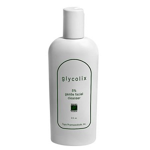 Glycolix 5% Gentle Facial Cleanser (8 oz.) (Dry, Oily and Aging Skin)