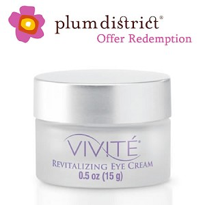 Vivite Revitalizing Eye Cream (Plum District Offer) (0.5 oz / 15 g)
