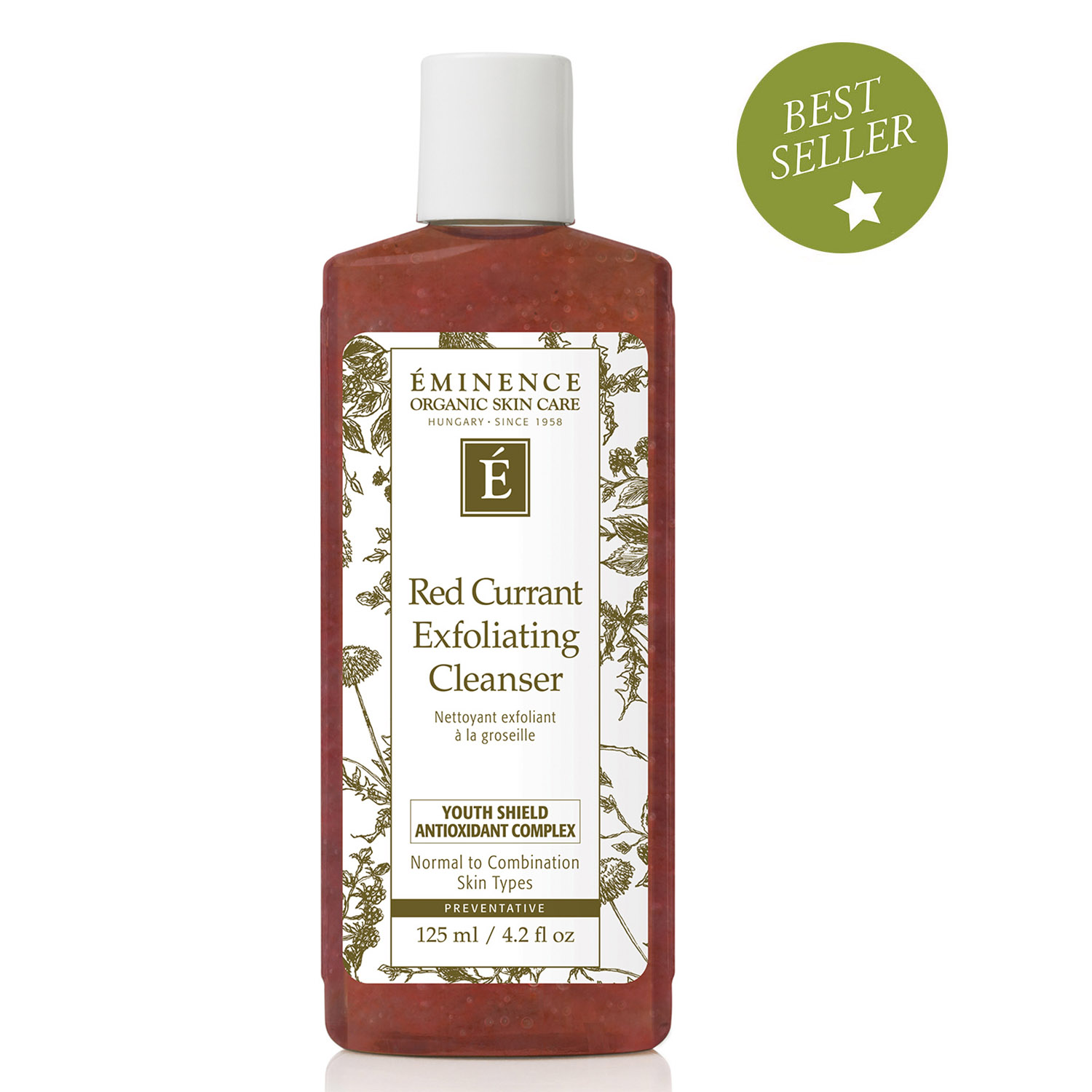 Eminence Red Currant Exfoliating Cleanser Vegetable Glycerine 125 Ml Quick View