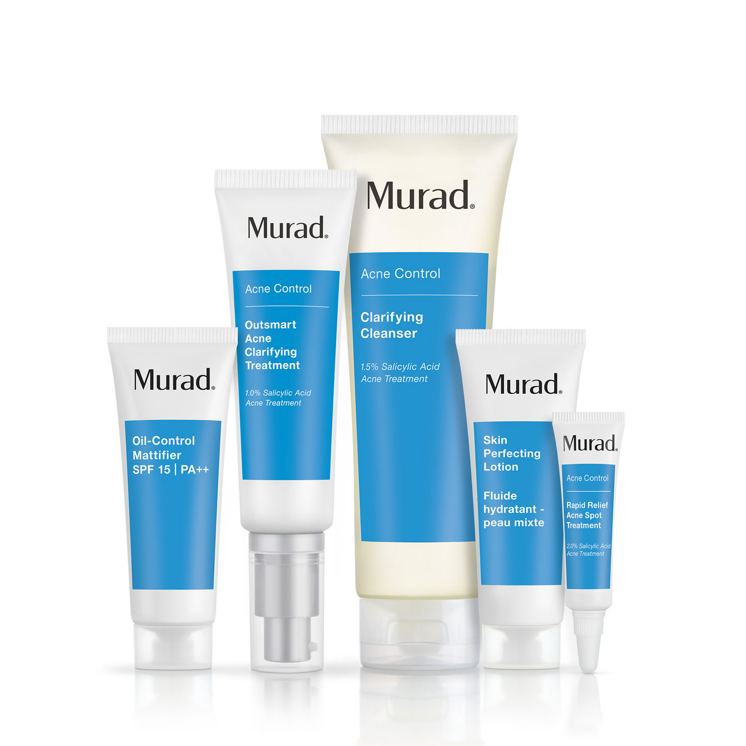 Murad Clear Control 60 Day Kit Acne Control 122 Value Set