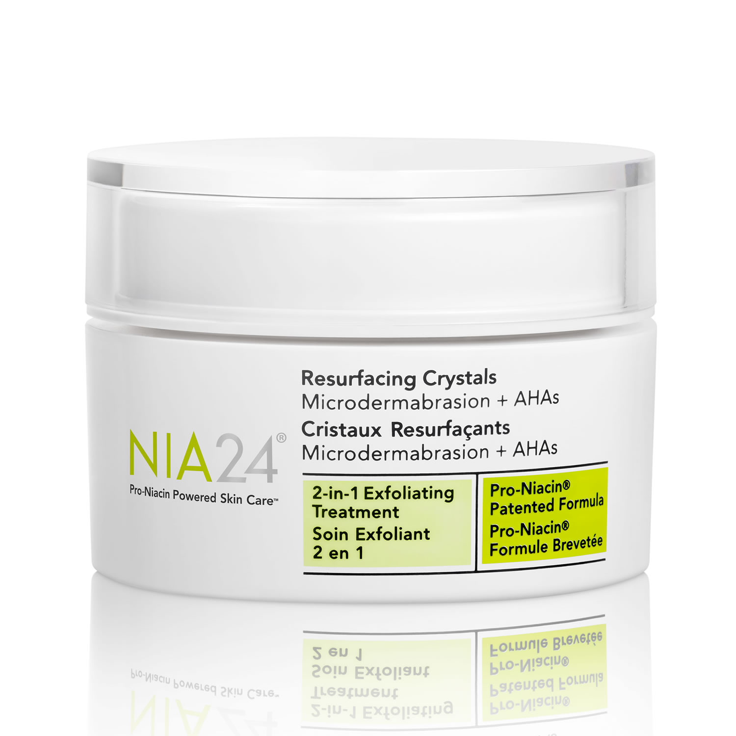 NIA24 Resurfacing Crystals 2-In-1 Exfoliating Treatment