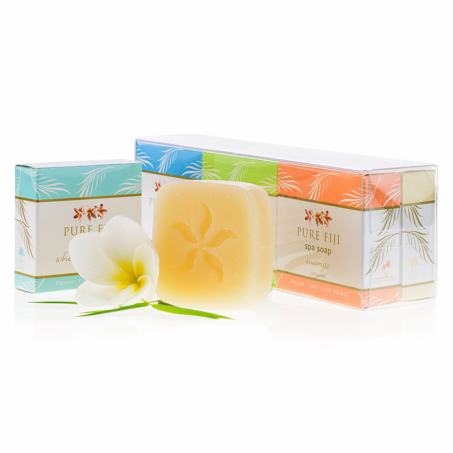 Pure Fiji Spa Soap Gift Pack Mini Size