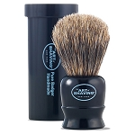 The Art of Shaving Black Travel Shaving Brush (ea)
