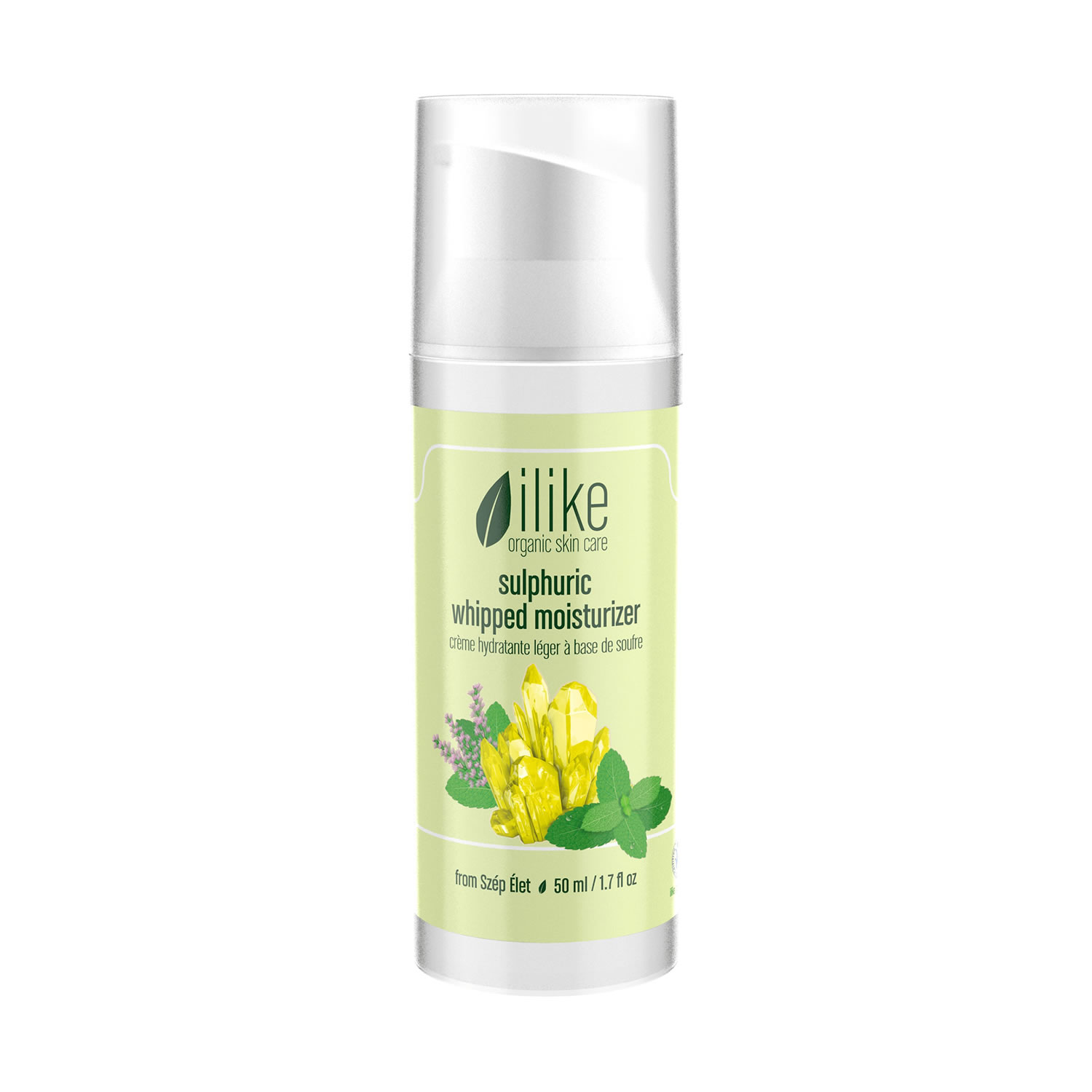 ilike organic skincare sulphuric whipped moisturizer (50 ml / 1.7 fl oz)