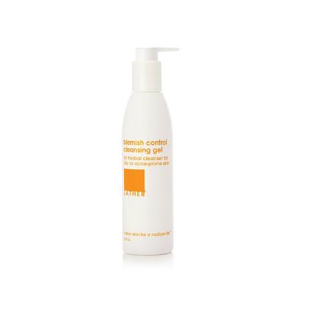 LATHER blemish control cleansing gel (6 oz)