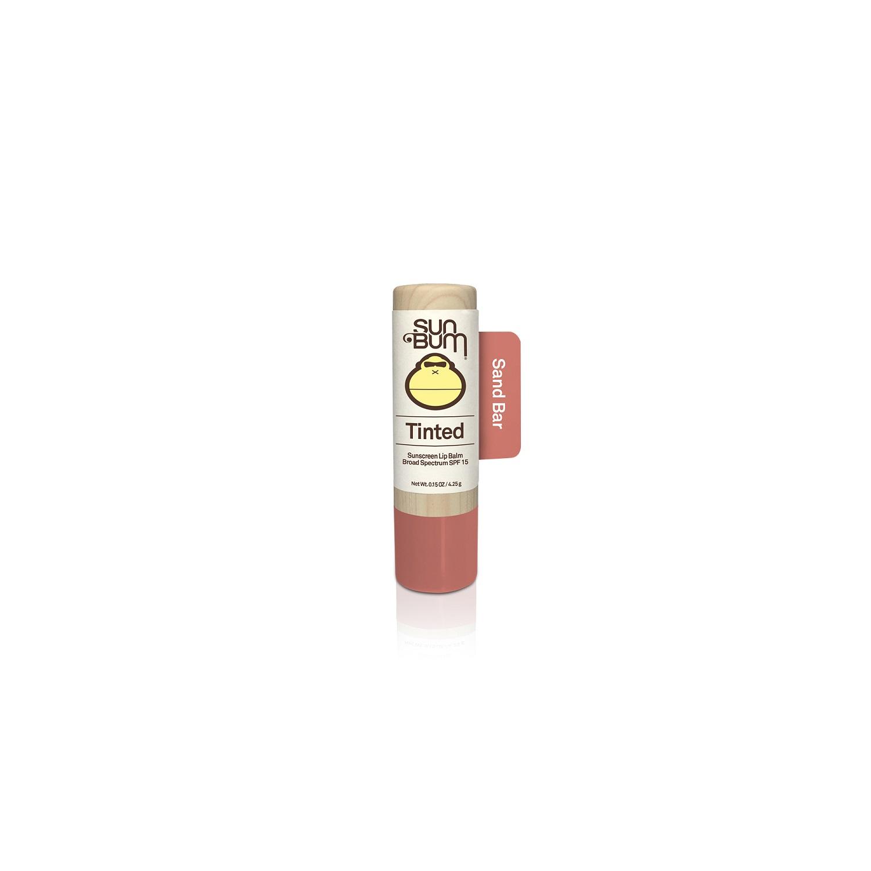 Sun Bum Tinted Sunscreen Lip Balm Broad Spectrum SPF 15 - Sand Bar (0.15 oz / 4.25 g)