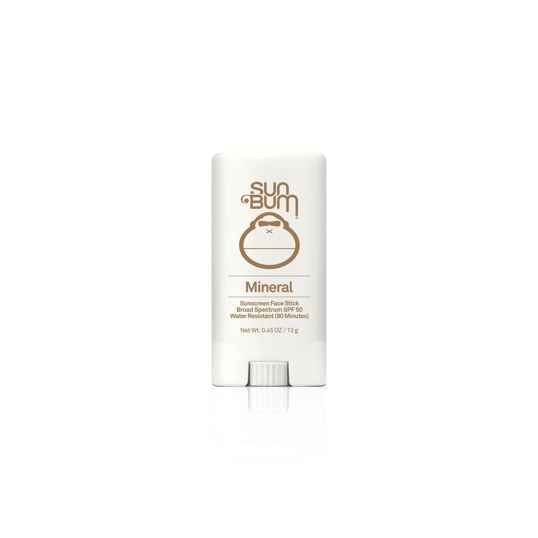 Sun Bum Mineral Sunscreen Face Stick Broad Spectrum SPF 50 (0.45 oz / 13 g)