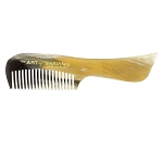 The Art of Shaving Horn Moustache Comb (ea)