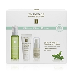 Eminence Organics Acne Advanced Treatment System ($164 value) (set)