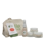 ilike organic skin care Time Reverse Starter Kit [For Aging, Dry Skin] (set)
