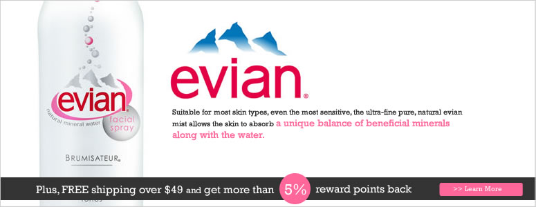 Evian Sale, Brumisateur Natural Mineral Water Facial Spray