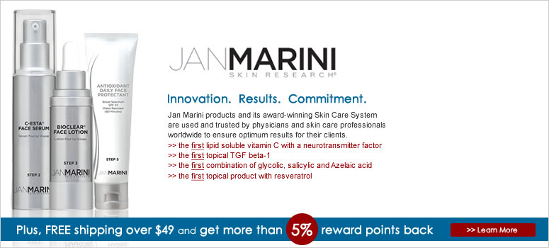 Jan Marini Sale. Use coupon to save big on Jan Marini Skincare, jan marini bioclear, jan marini cosmetics.