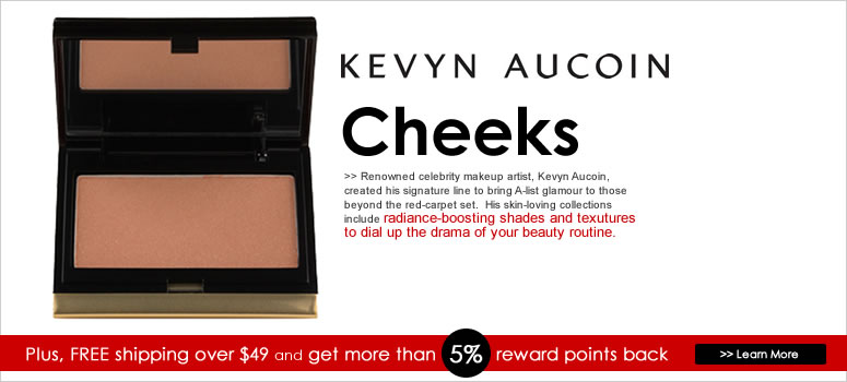 Kevyn Aucoin Cheeks Sale. Use coupon to save big on Kevyn Aucoin.