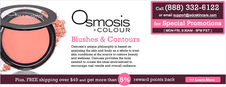 Osmosis +COLOUR Blushes & Contours Sale