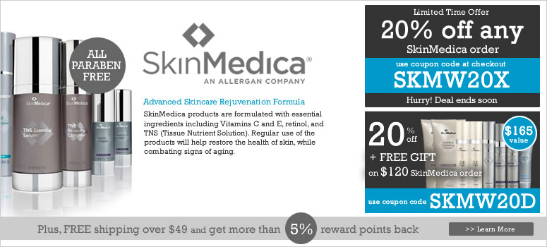 SkinMedica Skincare Products, beauty skin care
