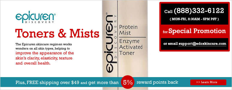 epicuren Toners & Mists Sale