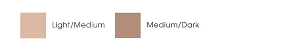 MDSolarSciences Md Creme Mineral Beauty Balm Broad Spectrum SPF 50  Color Chart
