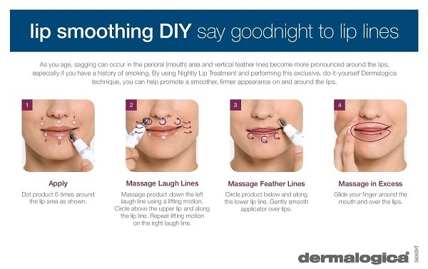 Dermalogica Nightly Lip Treatment (Age Smart) Smoothing DIY