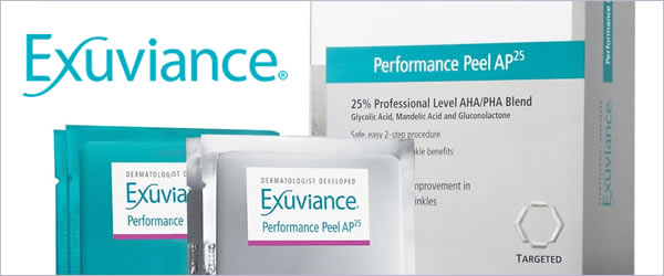 Professional Peel Results with Exuviance Performance Peel AP25