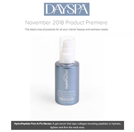 HydroPeptide Firm A Fix Nectar as seen in Day Spa