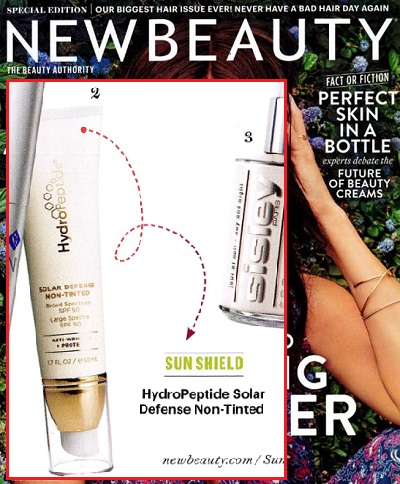 72bd13731c6 HydroPeptide Solar Defense Non-Tinted Broad Spectrum SPF 50 as seen in New  Beauty
