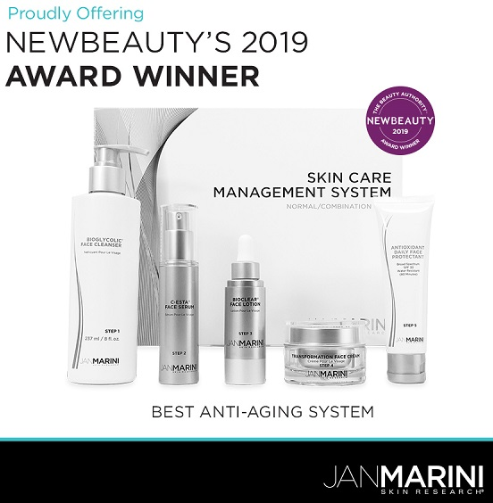 Jan Marini Skin Care Management System - Normal / Combination with Daily Face Protectant SPF 33 New Beauty 2019 Awards