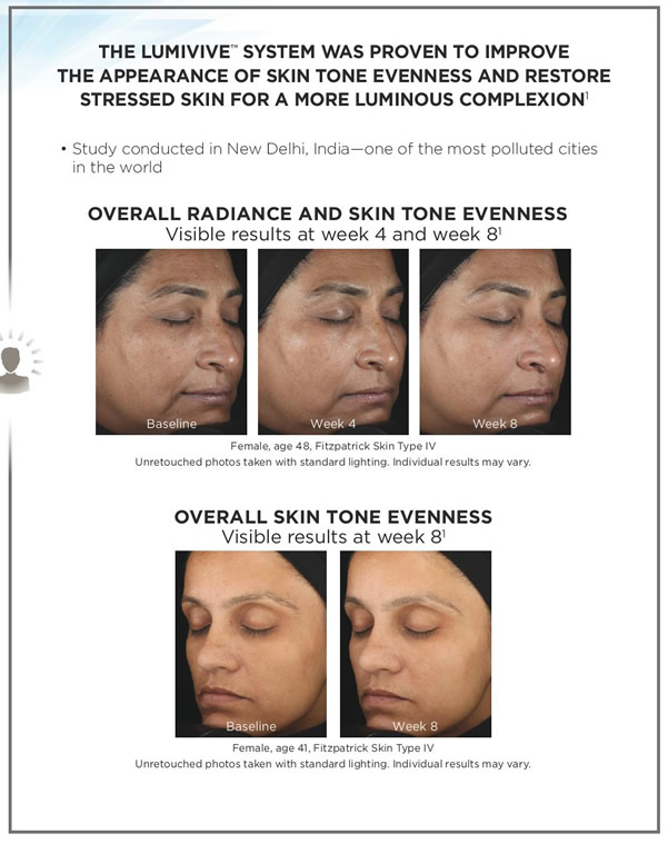 SkinMedica Lumivive System Before & After 1