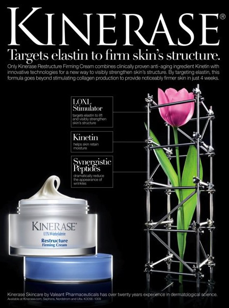 In-Depth Look at Kinerase Restructuring Firming Cream.