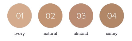BABOR AGE ID Deluxe Foundation Color Chart