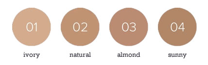 BABOR AGE ID Serum Foundation Color Chart