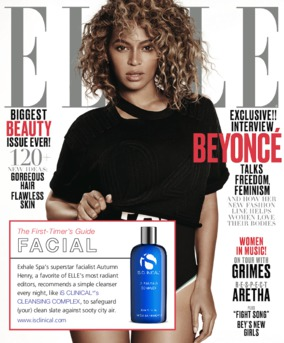 iS Clinical Cleansing Complex as seen in Elle