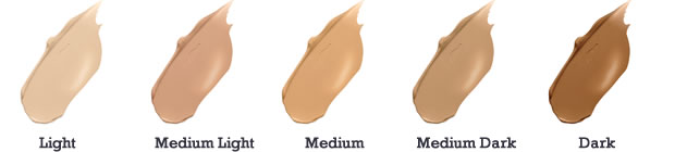 jane iredale Disappear Full Coverage Concealer Color Chart