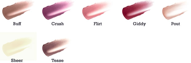 jane iredale LipDrink Lip Balm Color Chart