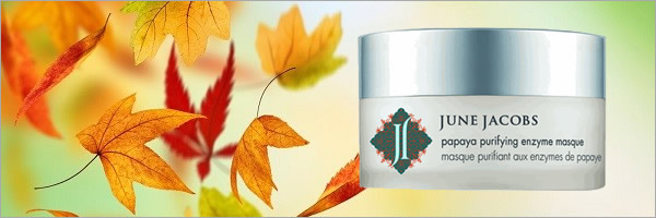 Prepare for Fall with June Jacobs Papaya Purifying Enzyme Masque