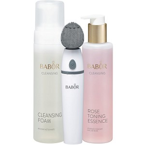 BABOR CLEANSING Silicone Cleansing Brush Set (set) ($146 value)