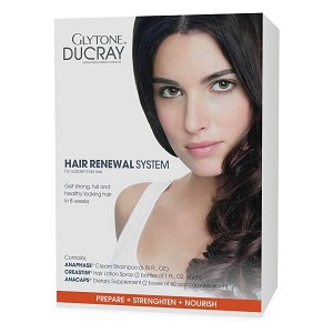 Glytone DUCRAY HAIR RENEWAL SYSTEM - for sudden hair loss (set)