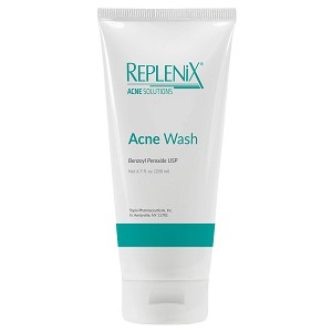 Replenix Acne Solutions Benzoyl Peroxide Wash USP 5% (6.7 fl oz / 200 ml)