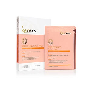 karuna BRIGHTENING+ FACE MASK (4 count)