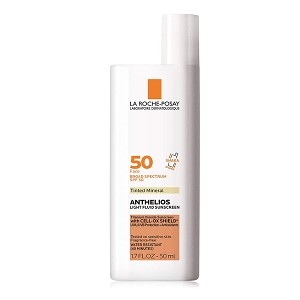 La Roche-Posay Anthelios Tinted Mineral Ultra Light Sunscreen Fluid SPF 50 (1.7 oz / 50 ml)