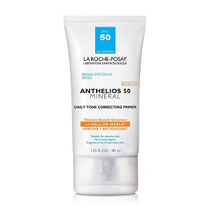 La Roche-Posay Anthelios 50 Mineral Tinted Daily Tone Correcting Primer SPF 50 (1.35 fl oz / 40 ml)