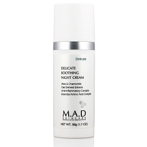 M.A.D SKINCARE Delicate Soothing Night Cream (50 g / 1.7 oz)