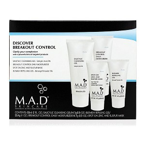 M.A.D SKINCARE Discover Breakout Control (set) ($51.80 value)