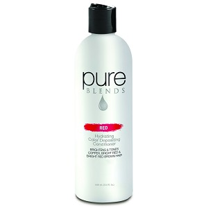 Pure Blends Red Hydrating Color Depositing Conditioner 1000 Ml 33 8 Fl Oz
