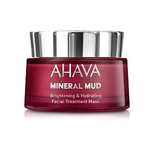 AHAVA Mineral Mud Brightening & Hydrating Facial Treatment Mask (50 ml / 1.7 fl oz)